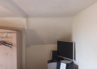 Repaired Collapsed Ceiling